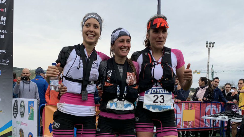 Sheila Avilés, Azara García y Marta Molins.