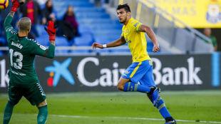 Rafa Mir, uno de los ausentes en la UD para jugar en Granada.