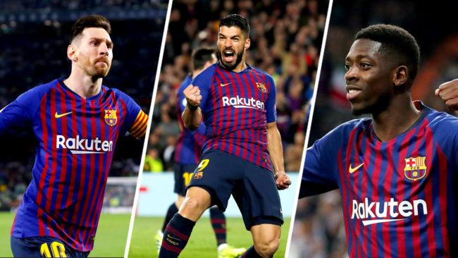 Valverde no contará con Messi, Suárez y Dembélé