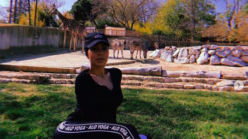 Georgina Rodríguez en una fotografía de su Instagram