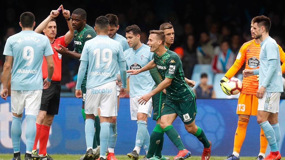 Imagen del Celta-Betis, último partido del conjunto vigués en casa