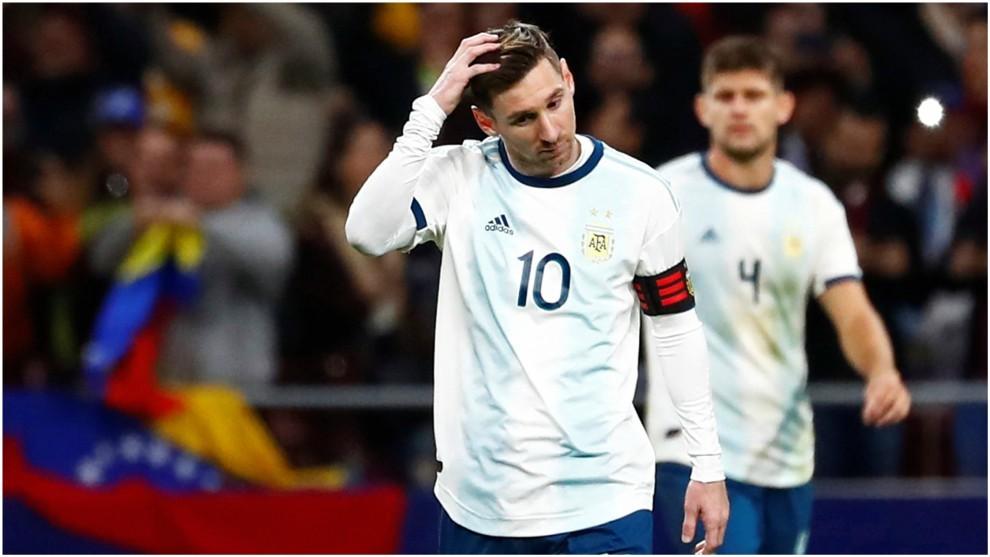 Messi se perderá el partido contra Marruecos al resentirse de una lesión
