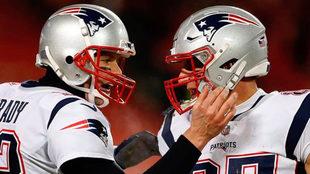 Tom y Rob conquistaron el Super Bowl en 2015, 2017 y 2019