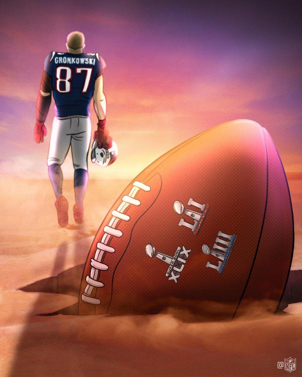 Homenaje de la NFL a Rob Gronkowski tras anunciar su retirada