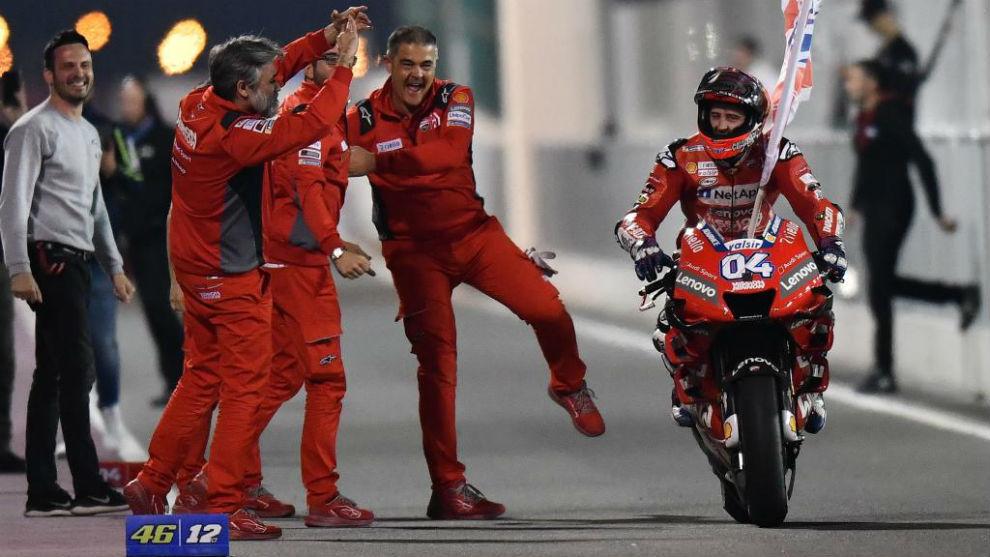 Moto GP: Andrea Dovizioso y Ducati, finalmente pueden festejar