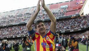 Las mejores imágenes del partido de leyendas del centenario