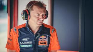 Leitner, Team Manager del Red Bul KTM Factory Racing.
