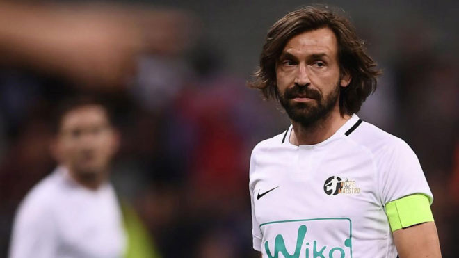 a35a21241 Football  Pirlo  I think Juventus are better than Barcelona