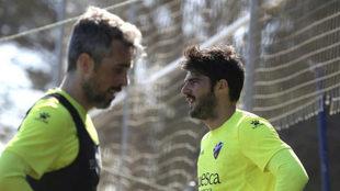 Luisinho y Melero siguen en la fase de recuperación de sus lesiones.