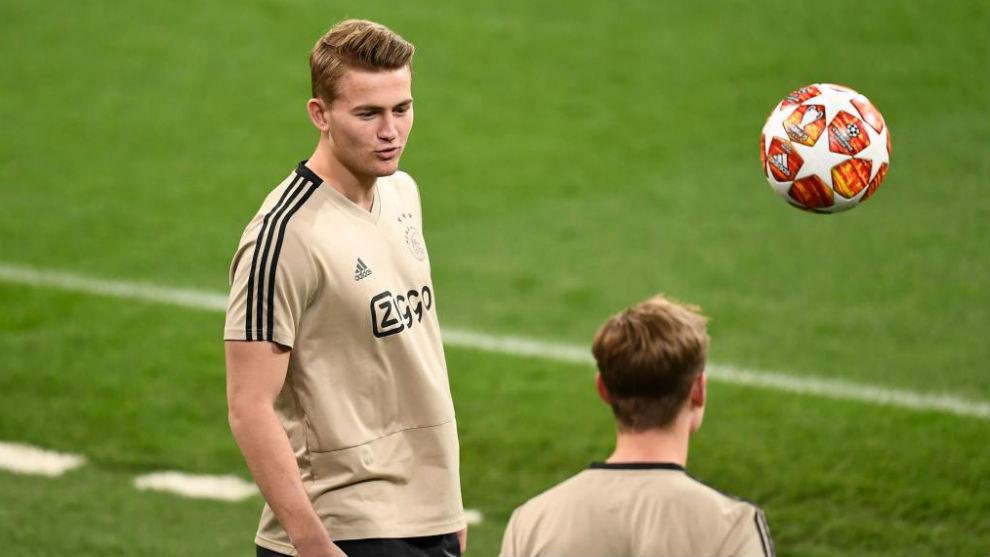 De Ligt with Ajax.