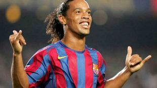 Makelele habla de su enfrentamiento con Ronaldinho.