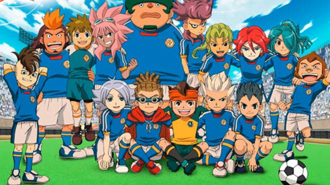 La selección de Japón de Inazuma Eleven