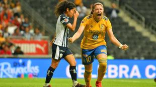 Katty Martínez anotó el único tanto del partido.