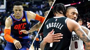 Thunder y Nets sucumben en una emocionante jornada de la NBA.