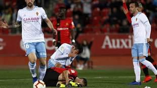 Dorado y Budimir se quejan de un golpe en el partido del lunes en Son...