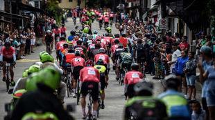Imagen de archivo del Giro de Italia.