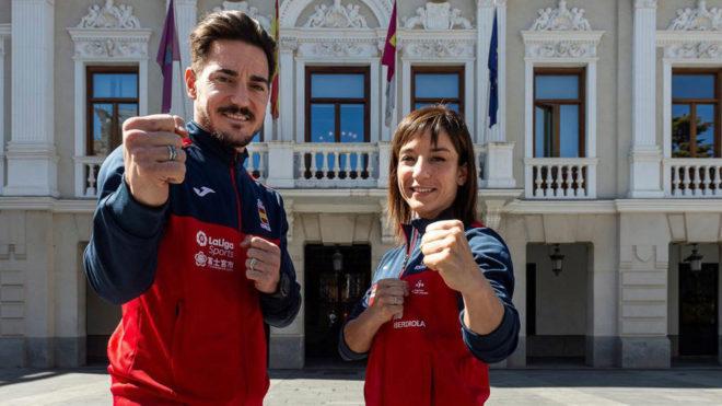 Damián Quintero y Sandra Sánchez, en Guadalajara, sede del Europeo...
