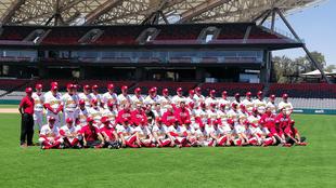Los Diablos Rojos presentaron su roster para la nueva temporada.