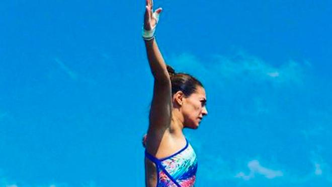 Adriana Jiménez entrena en China previo a la temporada 2019