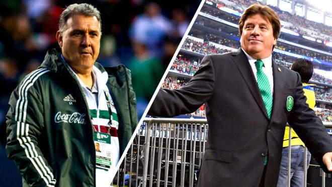 Gerardo Martino y Miguel Herrera, el mejor arranque con la selección...