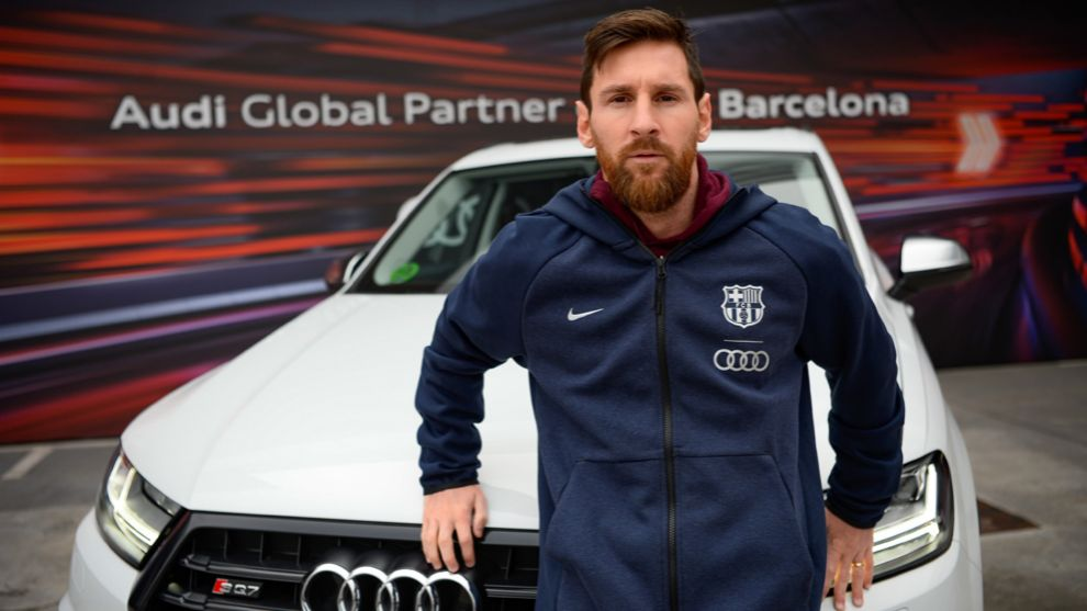 Messi optó por el SQ7, el todocamino diésel más potente del mercado...