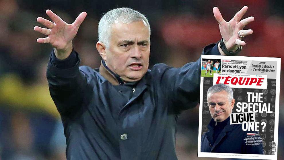 El próximo destino de Mourinho, ¿en Francia?