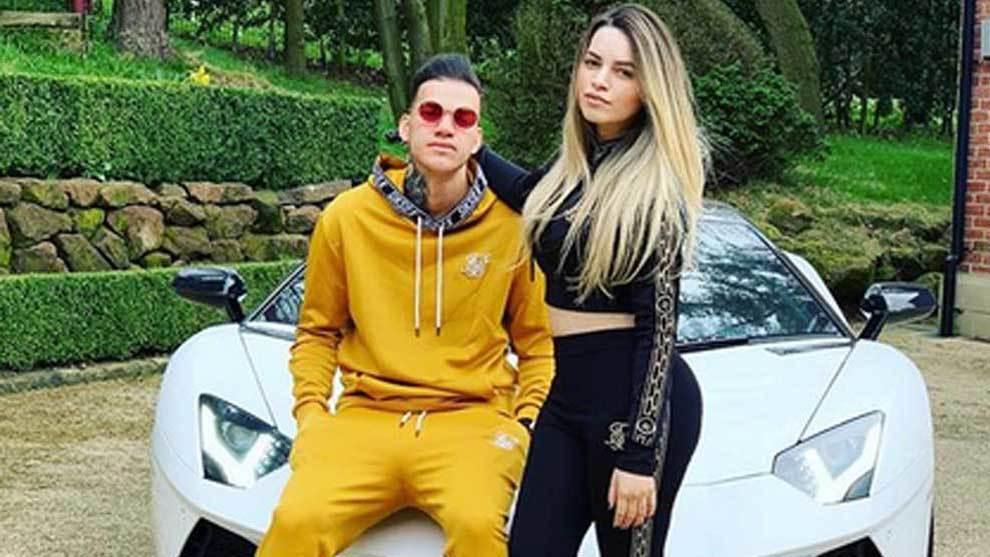 Ederson posó junto a su esposa Lais Morales en un comentada foto en...
