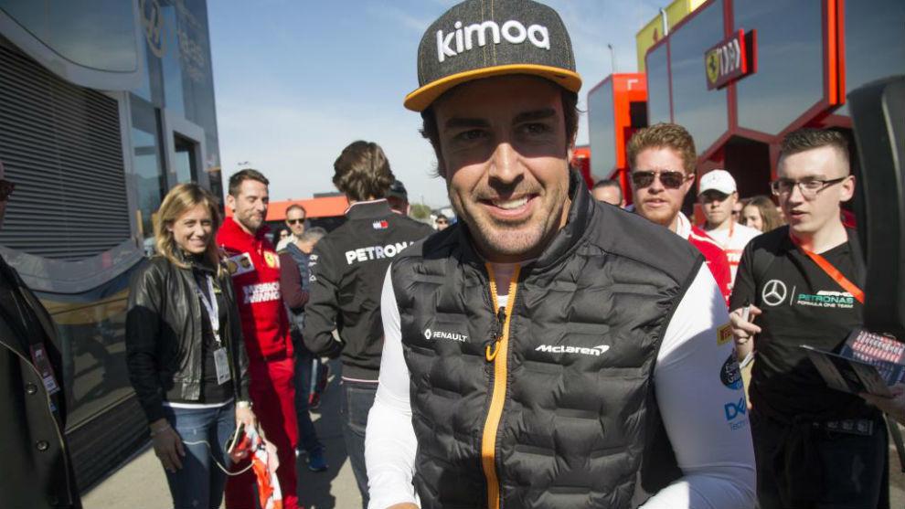 Fernando Alonso volverá a conducir el McLaren