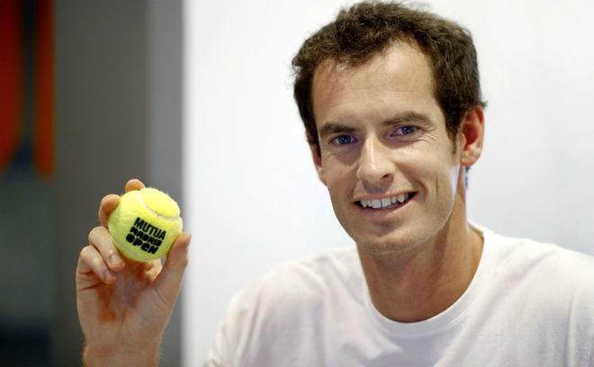 Andy Murray, en un reportaje