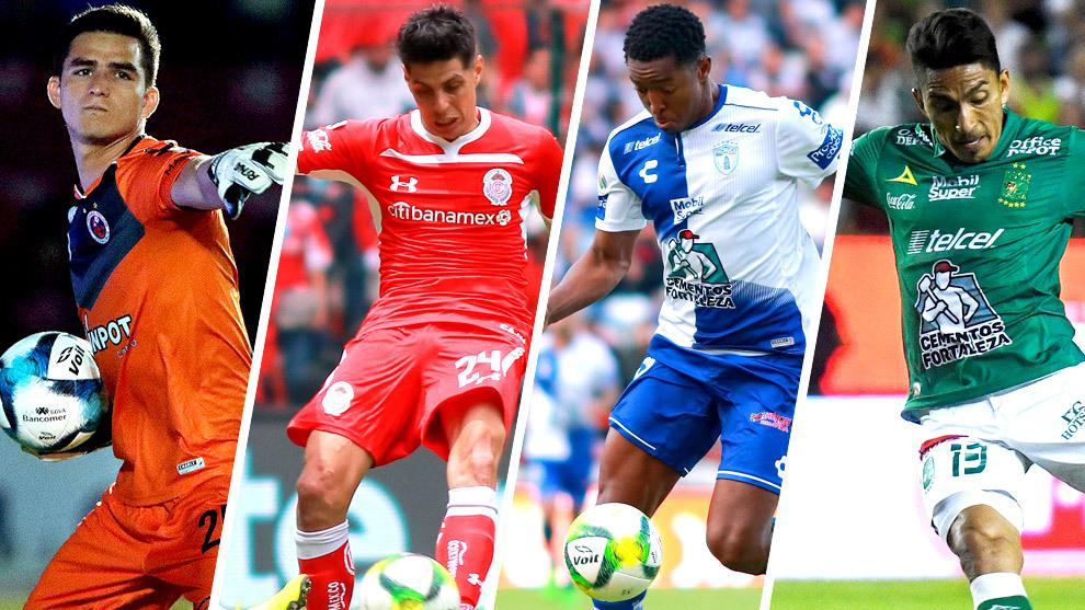 Jurado, Barrientos, Murillo y Mena han destacado en el Clausura.