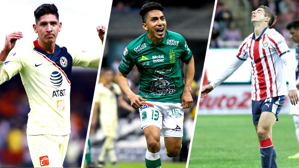 América, León y Chivas protagonizarán encuentros de alarido en la...