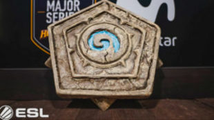 Trofeo del ESL Major Series Hearthstone