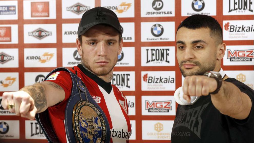 Kerman Lejarraga y David Avanesyan.