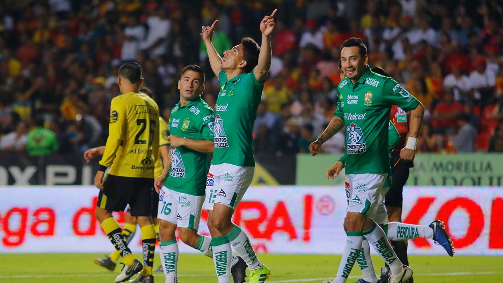 Morelia y León sostuvieron un partido de grandes emociones.