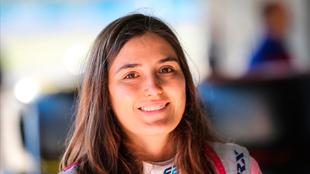 Tatiana Calderón tuvo su primera carrera en la Fórmula 2