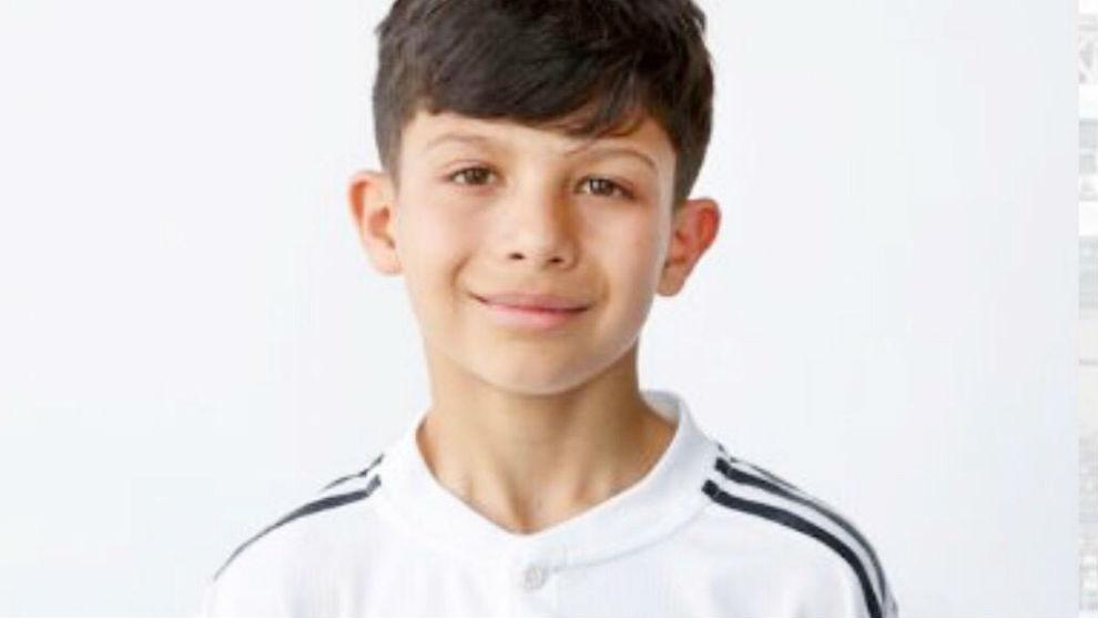 Sergio Torres, en su primera ficha con el Madrid.
