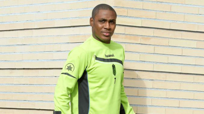 Odion Ighalo plays his football in China