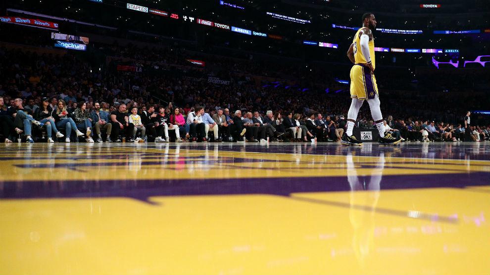 Adiós prematuro a su primera temporada en los Lakers — LeBron James