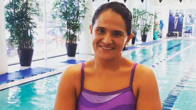 Toledano, nadadora mexicana.