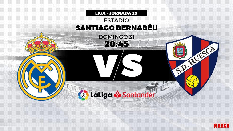 elegir oficial liquidación de venta caliente tienda del reino unido Liga Santander 2018-19: Real Madrid - Huesca: hora y dónde ...