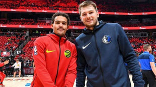 Trae Young y Luka Doncic