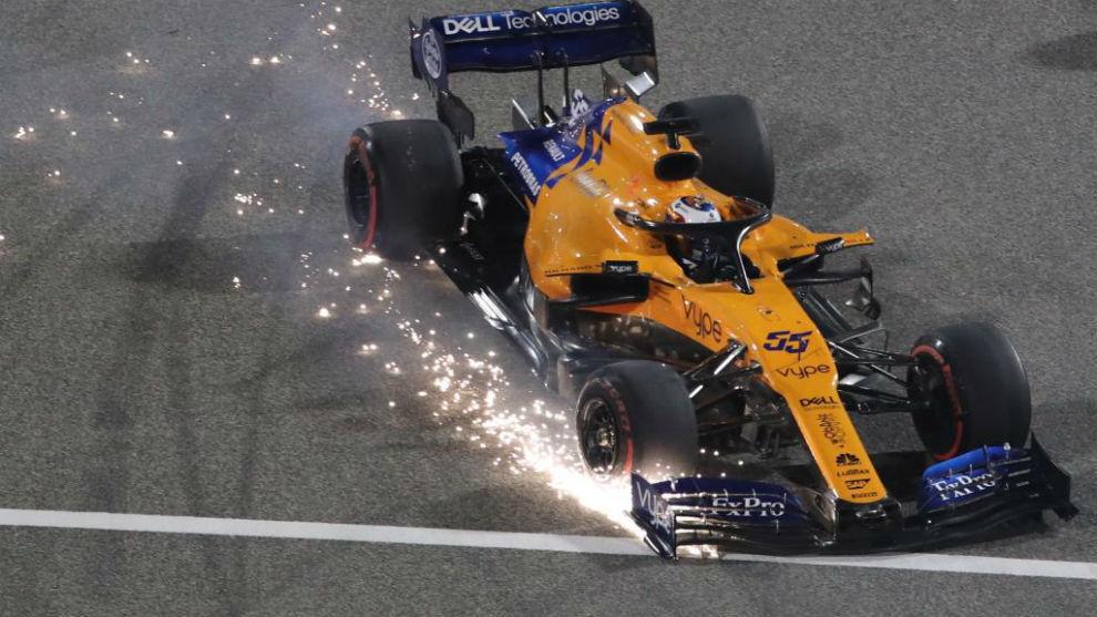 Resultado de imagen de Carlos Sainz Verstappen GP Bahréin 2019