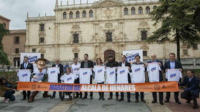 La presentación del IV Maratón de Alcalá.