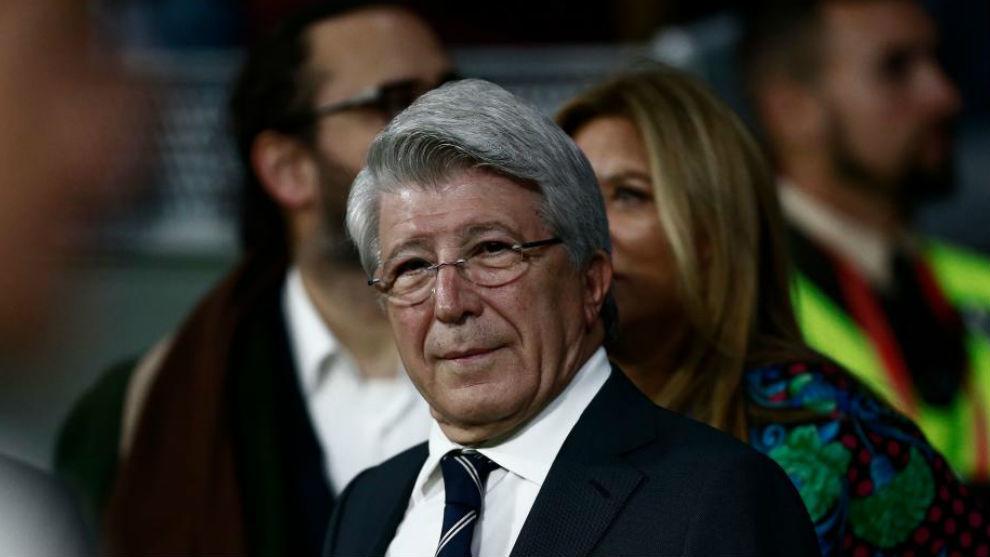Presidente del Atlético Madrid: