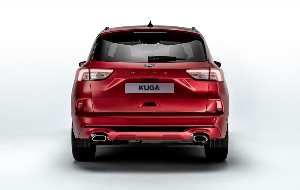 Ford presentó la nueva gama de Kuga con motor híbrido