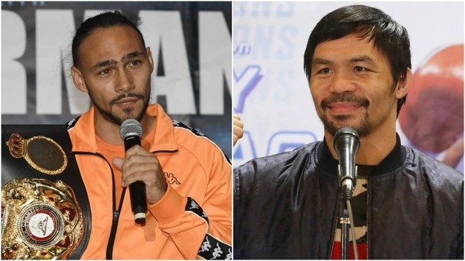Keith Thurman (30) y Manny Pacquiao (40).