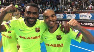 Arthur y Leo Santana, goleadores en la victoria del Barcelona en el...