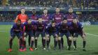 Once del Barça en La Cerámica.