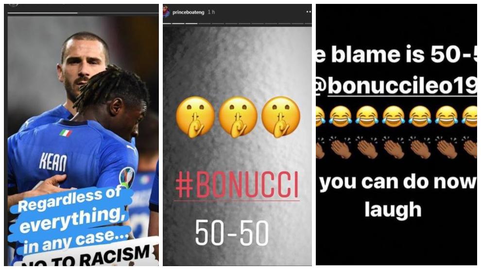 Bonucci, señalado por el caso de racismo de Kean: Boateng, Touré, Balotelli, Sterling....