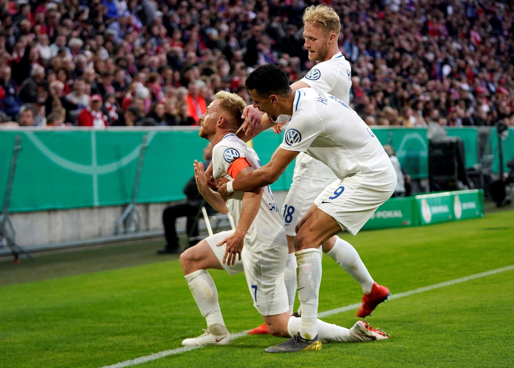 Bayern Múnich James Rodríguez copa de Alemania